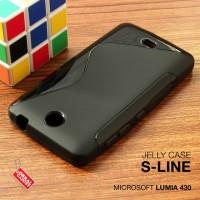 Softcase Silikon Jelly TPU Soft Case Casing Nokia Microsoft Lumia 430