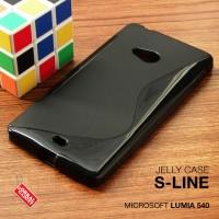 Softcase Jelly Slim TPU Case Cover Casing Nokia Microsoft Lumia 540