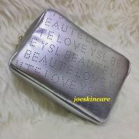 YSL Beaute Love Silver Big Pouch Tas Kosmetik