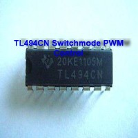 Komponen IC TL494CN Switchmode PWM Control