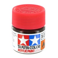Tamiya Paint Acrylic Mini X-27 Clear Red