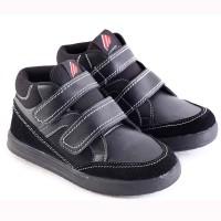Sepatu   Anak Laki-hitam-: