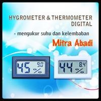 Hygrometer Kelembaban Suhu dan Termometer/Temperatur Digital
