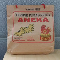 Keripik pisang kepok ANEKA Yen-Yen asli Lampung (ready 10 rasa) !!