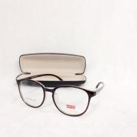 harga Frame Kacamata Minus Levis Pria Wanita NS601 Coklat Tokopedia.com