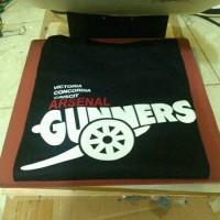 harga Tshirt/t Shirt/kaos Arsenal The Gunners Baju Distro Tokopedia.com