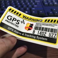 jdm sticker (VEHICLE GPS)