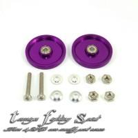 Rep Tamiya 95237 Roller Aluminium Dural Bearing 19mm Purple (RD1904)