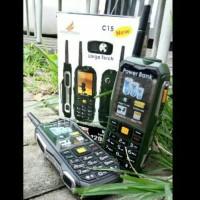 harga maxtron c15 handphone unik powerbank 12.000mah mirip brandcode b81 Tokopedia.com