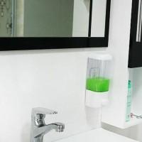 harga dispenser single , tempat sabun/sampo cair Tokopedia.com
