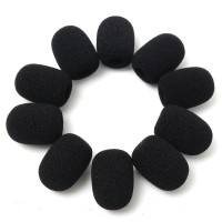 harga Busa mic Foam clip on headset 3cm microphone windscreen condenser Tokopedia.com