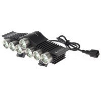 TrustFire LED Bicycle Light 7x Cree XM-L2 3200 Lumens - TR-D013 2010
