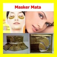 Masker Mata - Gold Eye Crystal Collagen Mask, Eyelid Patch