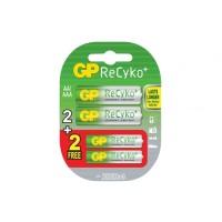 GP Baterai Battery Batre Recyko AA 2100 Free AAA 800 (GPRHC212B232)
