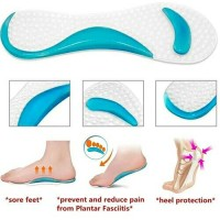1 pair High Heel Support Silicone Gel /silicon gel kaki
