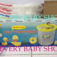 Kolam Bayi / Spa Baby Flow Duck / Bebek - Swimming Pool Jumbo 90 x 90