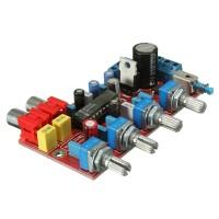 LM1036 Tone Board Preamp Board Volume Treble Bass Pre Amplifier