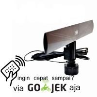 antena LED tv menggunakan remot dan boster intra smart INT-1000GT