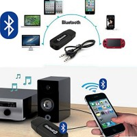 Wireless USB Bluetooth Audio Music Receiver Adapter Musik HP to Blutut