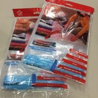 harga [60X80] PLASTIK VACUUM BAG UNTUK PAKAIAN / VACUM / VAKUM Tokopedia.com