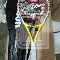 Raket Tenis Wilson Blx + SENAR (Free Tas+GRIP)