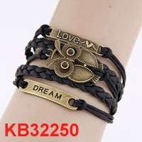 Jual Gelang Korea Multi Vintage Owl, Love & Dream KB32250 Murah