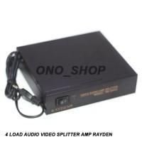 4 Load AV Distributor Rayden 104VA