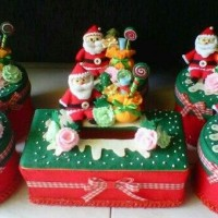 Jual Toples set natal santa Murah