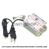 CATV Signal Amplifier ( Booster ) 2 Channel 20dB Rayden