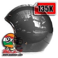 harga helm custom 100/model bogo, cargloss. mv star, vespa, list crome krom Tokopedia.com