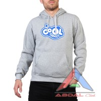Hoodie / Sweater Cool Games -Grey -Front Logo