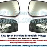 KACA SPION Mitsubishi Mirage Orisinil Genuine Part Asli baru Satuan