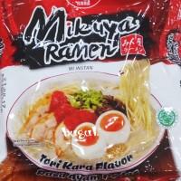 Mie Instant Nissin Mikuya Ramen Tori Kara/Rasa Ayam Pedas