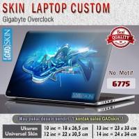 Garskin|Protector|Stiker|Cover|Skin Laptop Gigabyte Overclock