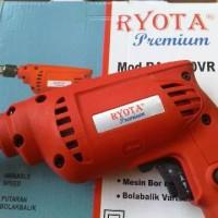 Mesin Bor 10mm Murah Reverse Bolak Balik Ryota Bor Kayu Besi PVC