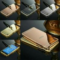 Luxury Bumper Slide Mirror Alumunium Case Sony Xperia Z3 / Experia Z