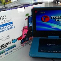 DVD Portable TORI 9.88' 3 Dimensi + Kaca Mata + CD 3 Dimensi