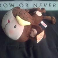 boneka Nici Fall in love monkey monyet pisang