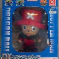 Chopper One Piece Dragon Ball x Chopperman DX Soft Vinyl Red 30cm
