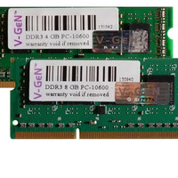 Memory VGEN Laptop/Notebook SODDIM 2GB DDR3 PC 10600/12800