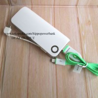 Hippo Power Bank 6000MAH Snow White 2 Simple Pack Limited