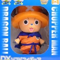 Chopper One Piece Dragon Ball x Chopperman DX Soft Vinyl Orange 30cm