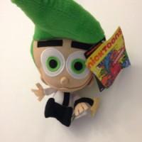 boneka Cosmo Plush The Fairly Odd Parents Nicktoons Import 25cm