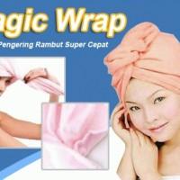 Jual Hair wrap Magic Towel handuk penyerap air opp as seen tv style keramas Murah