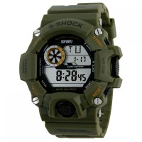 Jam Tangan SKMEI S-Shock Militer Sport Watch - DG1019 Army Green