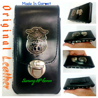 Dompet Sarung HP Smartphone Android HD Single Kulit Asli Garut D