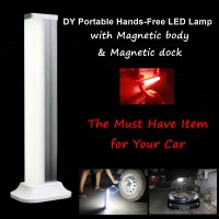 Portable Lampu Handfree SOS Mobil Rumah Led Emergency (DY-YJ008O)