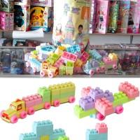 Mainan Edukasi Block Lego Yoyo 255 pcs / Block Anak Balita isi 255