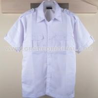 Baju Kemeja Seragam Promosi KODE : Kemeja Polos JP-02 Putih