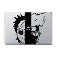 Tokomonster Decal Sticker Young Obito vs Kakashi - Naruto Macbook